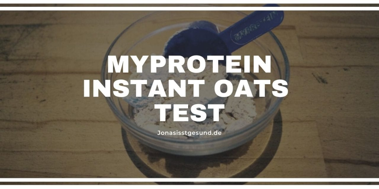 MyProtein Instant Oats Test
