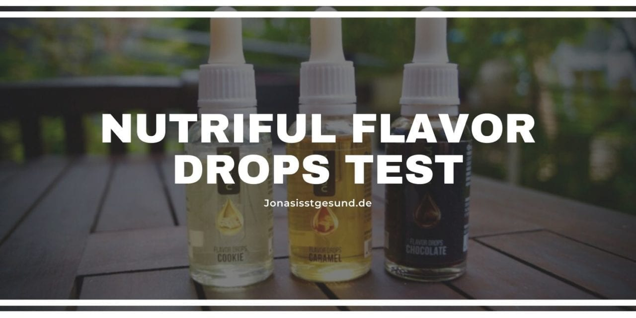 Nutriful Flavor Drops test